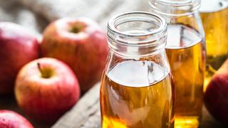 photo of apple cider vinegar for spiders